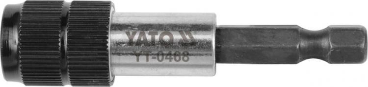 """Držiak na vŕtačku 1/4"""" 60 mm QUICK (YT-0468)"""