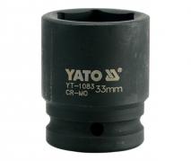 """Nadstavec 3/4"""" rázový šesťhranný 33 mm CrMo (YT-1083)"""