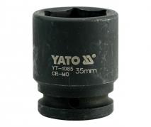 """Nadstavec 3/4"""" rázový šesťhranný 35 mm CrMo (YT-1085)"""