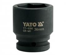 """Nadstavec 3/4"""" rázový šesťhranný 36 mm CrMo (YT-1086)"""