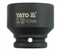 """Nadstavec 3/4"""" rázový šesťhranný 42 mm CrMo (YT-1092)"""