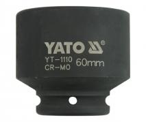 """Nadstavec 3/4"""" rázový šesťhranný 60 mm CrMo (YT-1110)"""