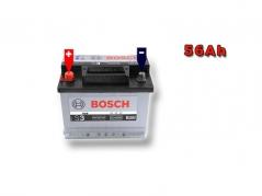 Autobateria BOSCH S3 0092S30060, 56Ah, 12V (0092S30060)