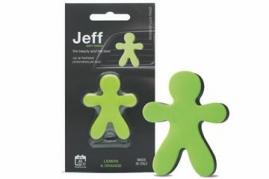 JEFF osviežovač vzduchu zelený soft - Lemon & Orange (33546)