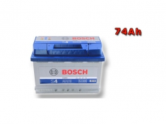 Autobateria BOSCH S4 0092S40090, 74Ah, 12V (0092S40090)