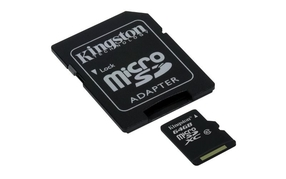 KINGSTON MicroSDXC 64GB Class 10 (KINGSTON64)