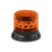 LED výstražný maják, 24LED, 12-24V, 3-bodový úchyt, R65, oranžový 911C24-A (TSS-911C24-A)