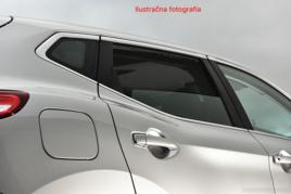 Slnečné clony na okná - HONDA Civic X. hatchback (2015-) - Komplet sada (HON-CIVI-5-D)