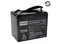 Trakčná batéria Goowei AGM OTL75-12, 75Ah, 12V (E6041)