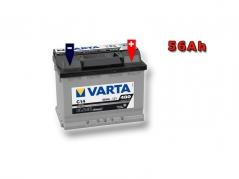 Autobatéria VARTA BLACK Dynamic 56Ah, 12V, 556400048 (556400048)