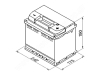 Autobatéria VARTA BLUE Dynamic 60Ah, 12V, 560408054 (560408054)