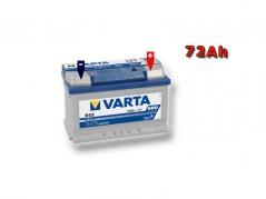 Autobatéria VARTA BLUE Dynamic 72Ah, 12V, 572409068 (572409068)