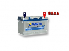 Autobatéria VARTA BLUE Dynamic 80Ah, 12V, 580406074 (580406074)