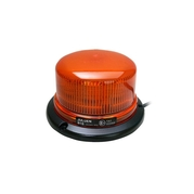 Výstražný rotačný maják, 10LED, 3-bodový úchyt, 12-24V, R65, oranžový B16ROT-3B-A (TSS-B16ROT-3B-A)