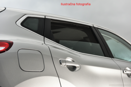 Slnečné clony na okná - VW Tiguan Allspace LWB (2016-) - Len na bočné stahovacie sklá (VW-TIAS-5-B/18)