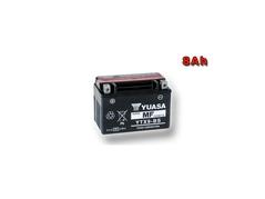 Motobatéria YUASA YTX9-BS 8Ah, 12V (E1365)