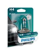 Žiarovka Philips H4 12V 60/55W P43t X-treme Vision +130% 1ks (PH 12342XV+B1)