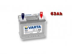 Autobatéria VARTA SILVER Dynamic 63Ah, 12V, 563400061 (563400061)