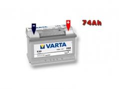 Autobatéria VARTA SILVER Dynamic 74Ah, 12V, 574402075