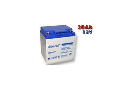 Trakčná batéria Ultracell VRLA-GEL 28Ah 12V UCG28-12 (E6641)
