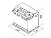 Autobatéria VARTA START-STOP PLUS 60Ah, 12V, 560901068 (560901068)