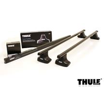 Thule Evo SquareBar lacný oceľový strešný nosič Toyota Auris 5dv. 2013- rovná strecha (7122+754+1725)