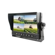 "AHD Monitor do vozidla 7"", 4ch, 4split, 4PIN, 1024x600, 12/24V TFT7HD4 (TSS-TFT7HD4)"