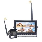 "AHD monitor 7"" a kamera bezdrôtový set, 4ch, 4split, 12/24V TFT7HDW (TSS-TFT7HDW)"