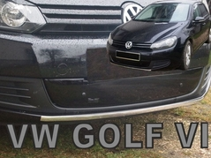 Zimná clona VW GOLF VI 2008-2012 Dolná (04090)