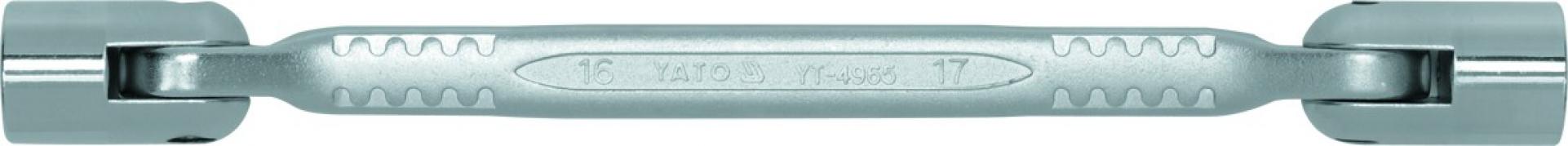 Nástrčné kľúče kĺbové 16x17 (YT-4965)