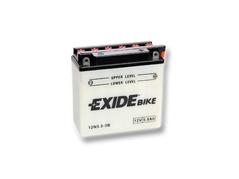 Motobatéria EXIDE BIKE Conventional 5,5Ah, 12V, 12N5.5-3B (E6645)