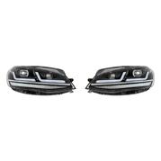 OSRAM LEDriving® Svetlomety pre VW Golf VII Facelift Čierne (OS LEDHL109-BK LHD)