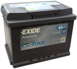 Autobatéria EXIDE Premium 64Ah, 12V, EA640 (EA640)