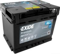 Autobatéria EXIDE Premium 64Ah, 640A, 12V, EA640 (EA640)