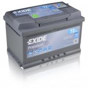 Autobatéria EXIDE Premium 72Ah, 12V, EA722 (EA722)