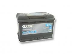 Autobatéria EXIDE Premium 77Ah, 12V, EA770 (EA770)