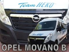 Kryt prednej kapoty HEKO Opel Movano B od 2010 (02154)