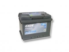 Autobatéria EXIDE Premium 61Ah, 12V, EA612 (EA612)