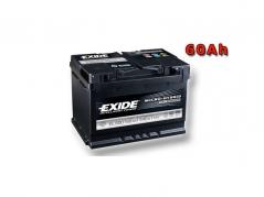 Autobatéria EXIDE Micro-hybrid ECM 60Ah, 12V, EL600 (EL600)