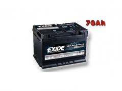 Autobatéria EXIDE Micro-hybrid ECM 70Ah, 12V, EL700 (EL700)