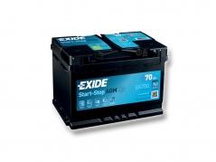 Autobatéria EXIDE Start-Stop AGM 70Ah, 12V, EK700 (EK700)