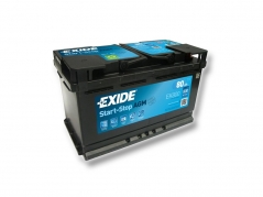 Autobatéria EXIDE Start-Stop AGM 80Ah, 12V, EK800 (EK800)