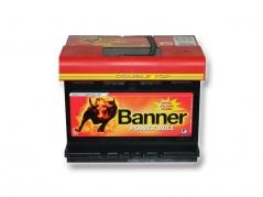 Autobatéria Banner Power Bull P6219, 62Ah, 12V (P6219)