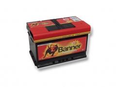 Autobatéria Banner Power Bull P7412, 74Ah, 12V (P7412)