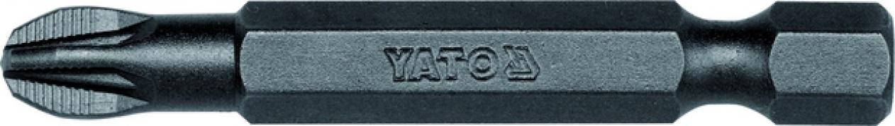 """Bit krížový 1/4"""" PZ3 x 50 mm 50 ks (YT-7852)"""