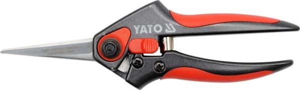 Nožnice záhradné priame 200 mm šikmý strih Al rukoväť (YT-8850)