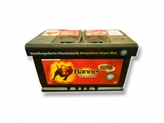 Autobatéria Banner Running Bull AGM 58001, 80Ah, 12V (58001)