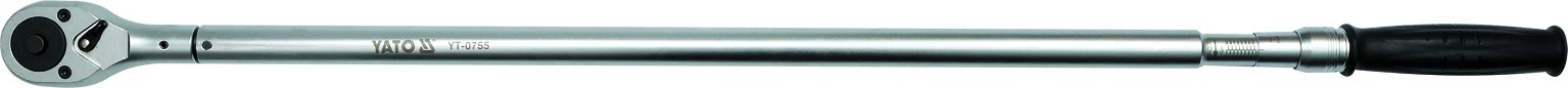 """Kľúč momentový 3/4"""" 200-1000 Nm CrV (YT-0755)"""