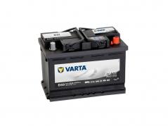 Autobatéria VARTA PROMOTIVE BLACK 66Ah, 510A, 12V, D33, 566047051 (566047051)