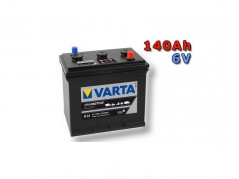 Autobatéria VARTA PROMOTIVE BLACK 140Ah, 720A, 6V, 140023072 (140023072)